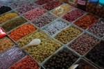 Fruits confits au marché Dong Xuan
