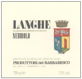 Produttori del Barbaresco - Langhe Nebbiolo