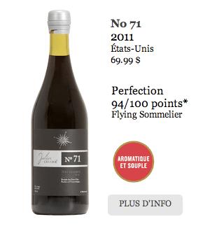 Julia Wine - Cellier 71