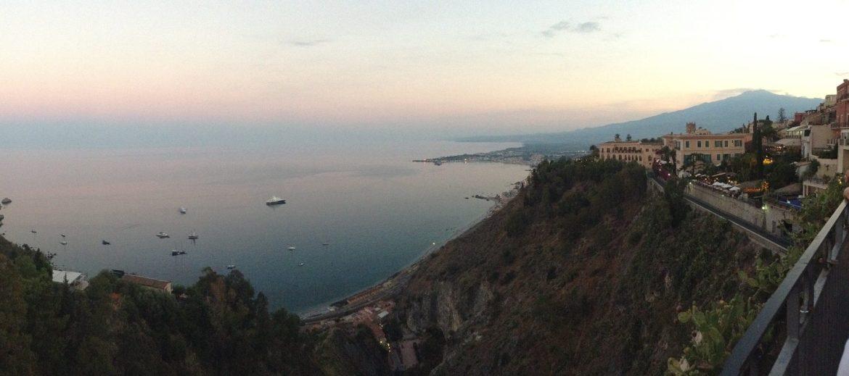 LEtna, depuis Taormina