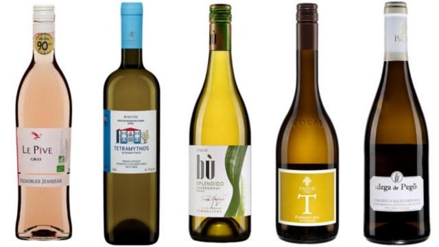 5 vins blancs sous 15$ (Photos: saq.com)