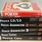 Ma collection de livre sur le Poker