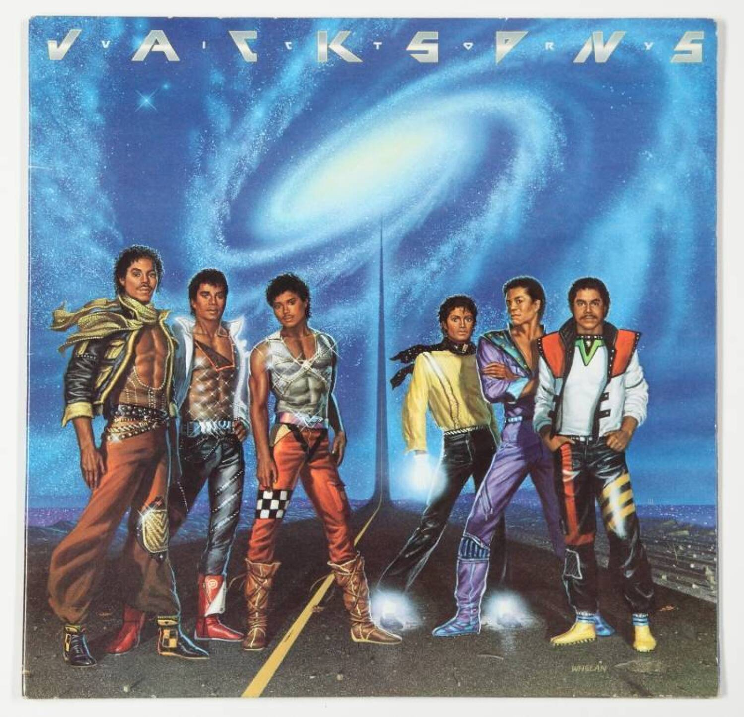 THE JACKSONS SIGNED VICTORY ALBUM  Current price 500