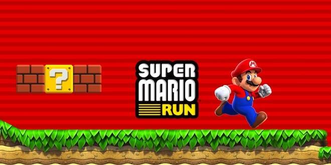 Super Mario Run annoncé sur iOS, Pokémon Go sur Apple Watch