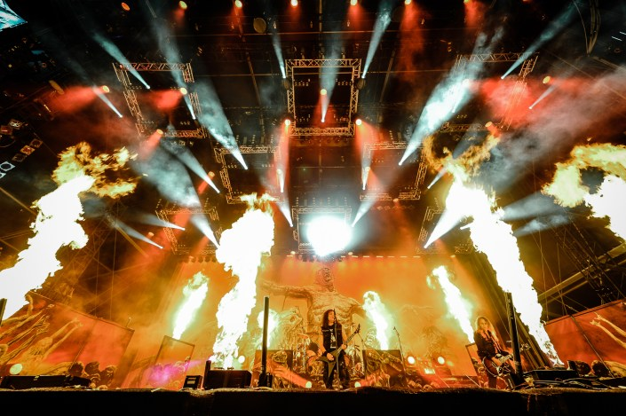Kreator plays at the Wacken Open Air 2014