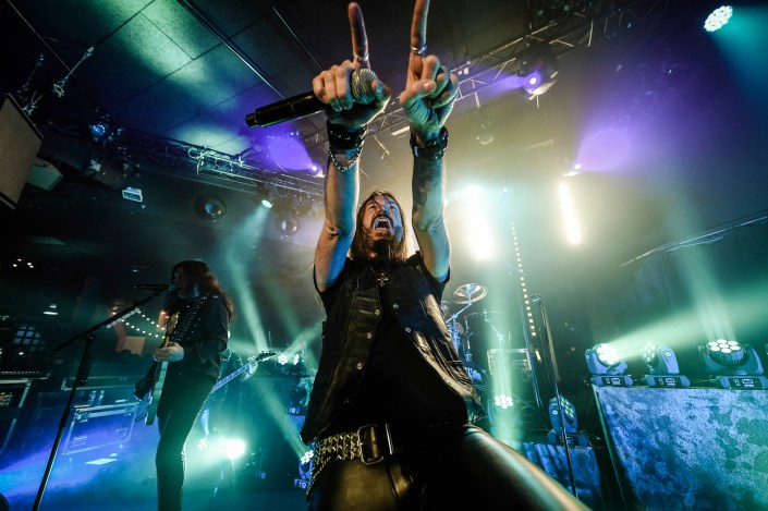 Hammerfall plays in Paris on 2015