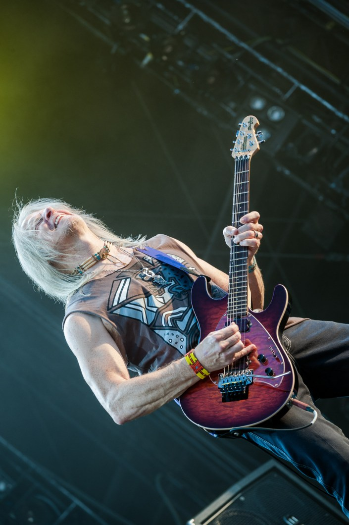 Deep Purple plays at the Wacken Open Air 2013