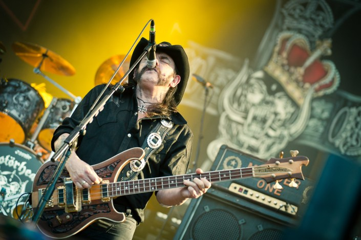 Motorhead plays at the Wacken Open Air 2013