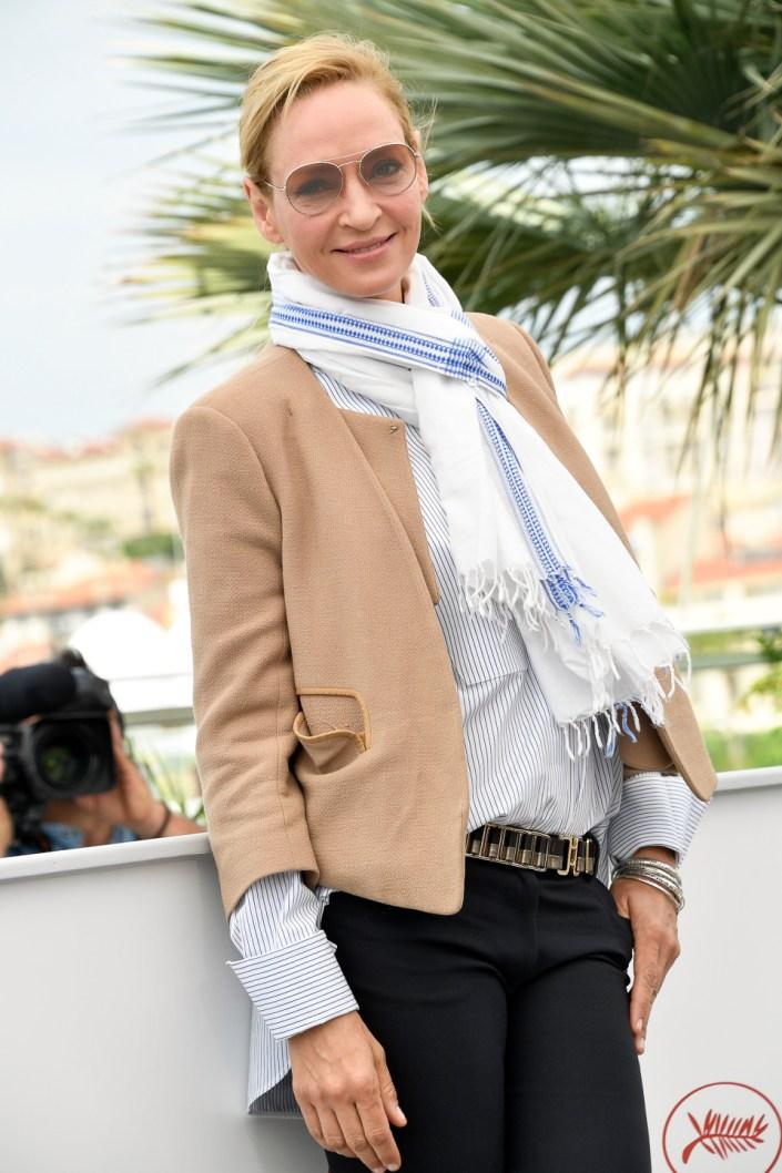 Uma Thurman - Cannes 2017