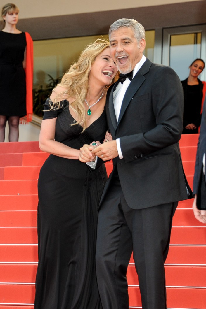 Julia Roberts & Georges Clooney - Cannes 2017