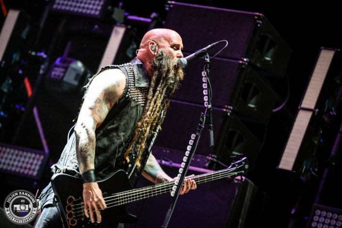 Five Finger Death Punch plays at Greenfield Festival 2017