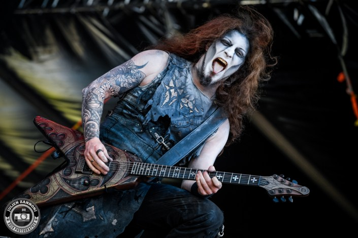 Powerwolf plays at Greenfield Festival 2017