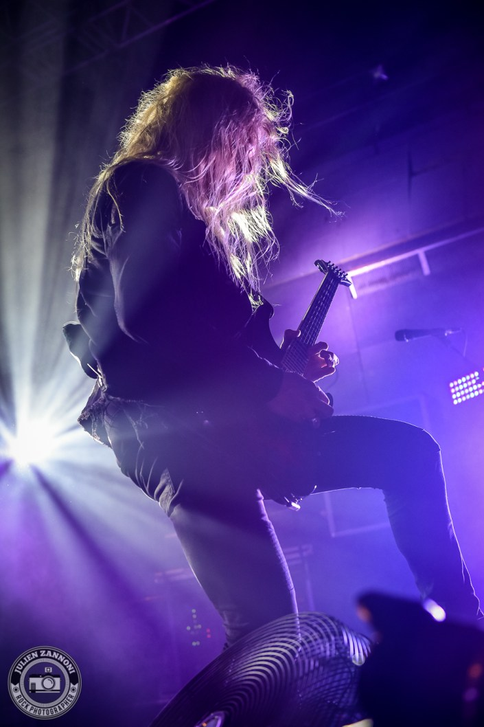Arch Enemy plays in Lyon in 2018