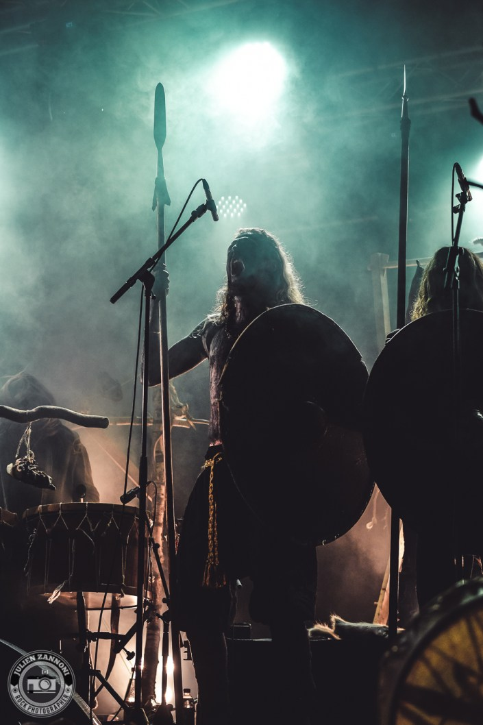Heilung plays at the Wacken Open Air 2018
