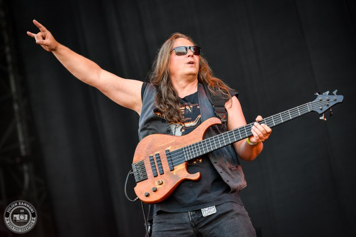 Skyline plays at the Wacken Open Air 2018