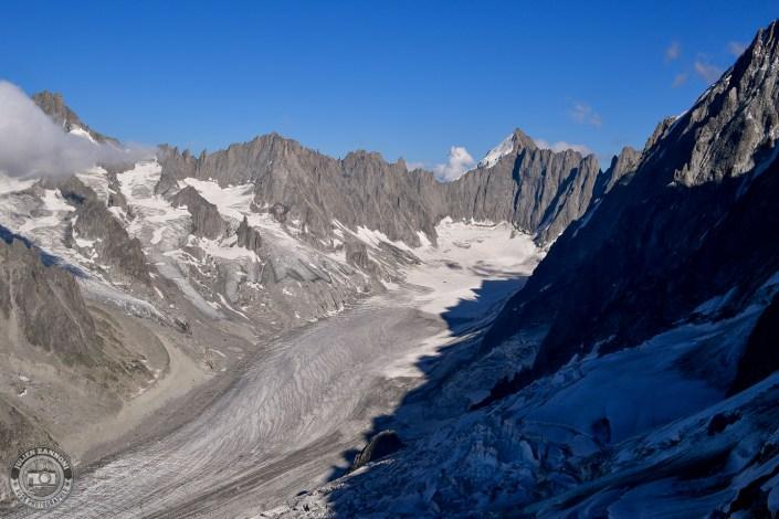Glacier d'Argentière & Mont Dolent