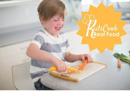 Kids Cook Real Food eCourse review