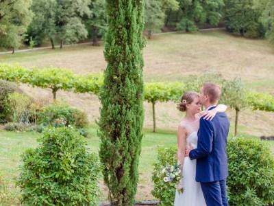 Mariage au Domaine le Castelet de Virginie et Nicolas