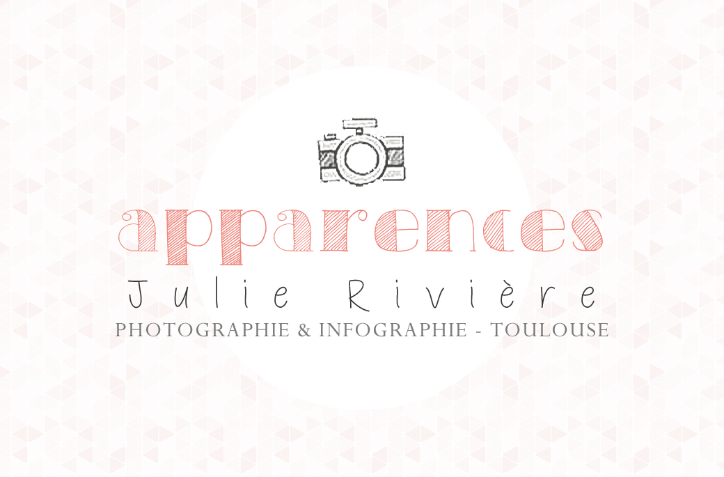 Apparences Photographe Mariage Maternité Famille Julie Rivière Photographie logo