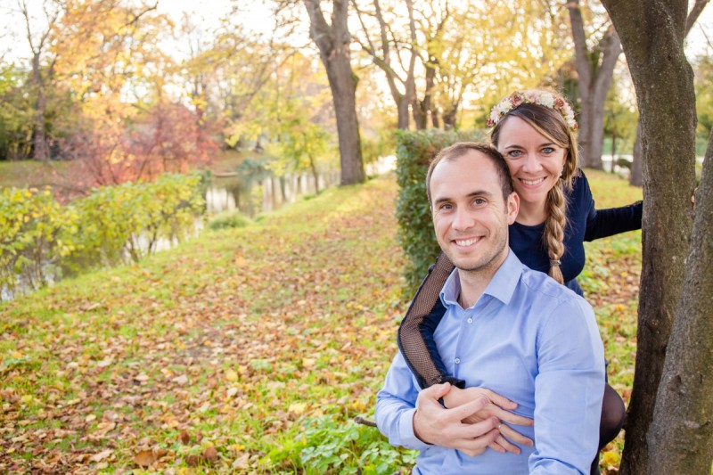 seance photo engagement toulouse julie riviere photographie automne marie charly