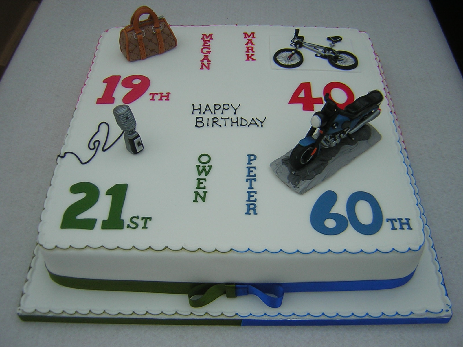 Happy Birthday Motorcycle Cakes Men