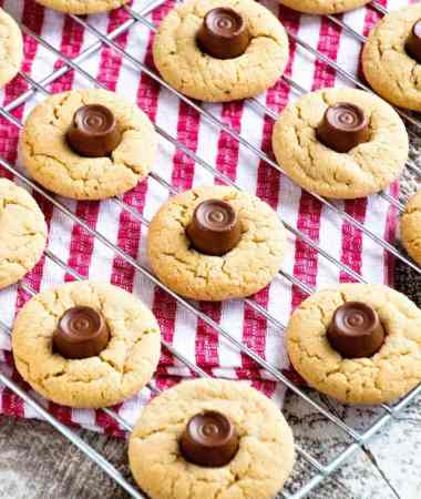 Rolo Peanut Butter Blossom Cookies Recipe