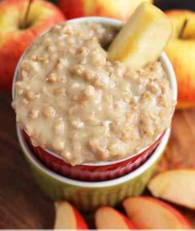Apple Brickle Dip ~ Amazing, Sweet Dip Loaded with Toffee to Accompany Your Apples!