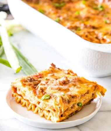 Mexican Lasagna Recipe + VIDEO