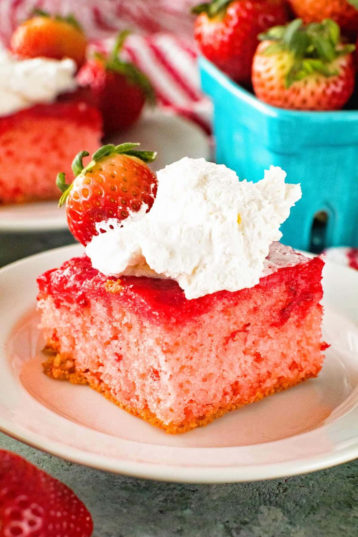 Strawberry Upside Down Cake Video Julies Eats Treats