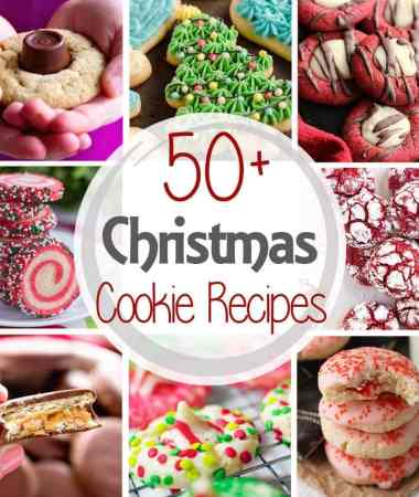 50+ Christmas Cookie Recipes!