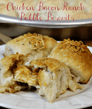 Chicken Bacon Ranch Bubble Biscuits