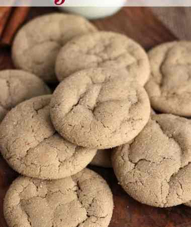 Gingerdoodles Cookie Recipe