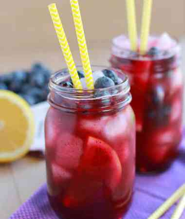 Blueberry Lemonade + VIDEO