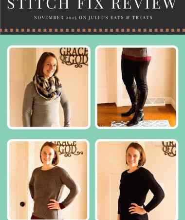 Stitch Fix Review November 2015