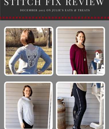 December 2015 Stitch Fix Review