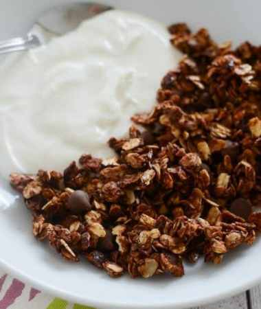 Nutella Granola Recipe