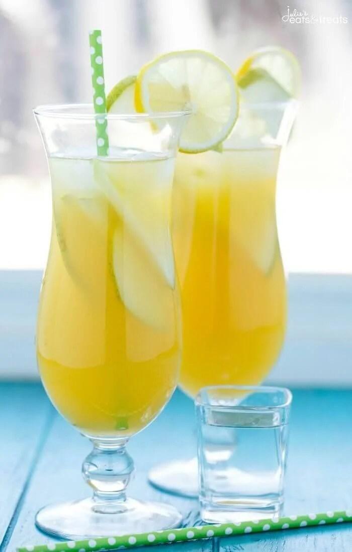 Pineapple Fruit Cocktail Drink Recipe - Julie's Eats & Treats