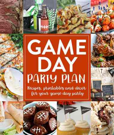 Plan Your Game Day Party with Ease!