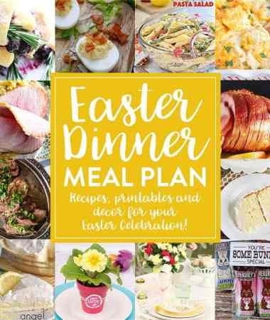 Easter Dinner Meal Plan!