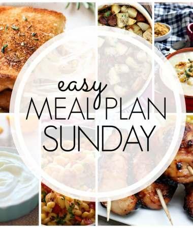 Easy Meal Plan Sunday {Week 90}