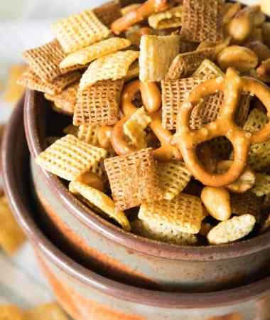 Honey Mustard Homemade Snack Mix