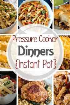Pressure Cooker} Instant Pot Chicken Alfredo - Julie's Eats & Treats ®