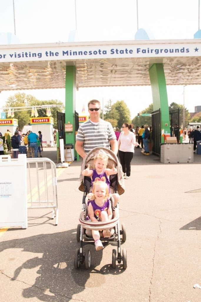 The family at the Minnesota State Fair!