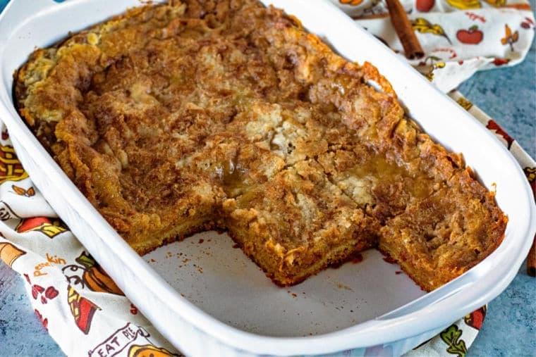 Best Pumpkin Bars Recipes in casserole dish