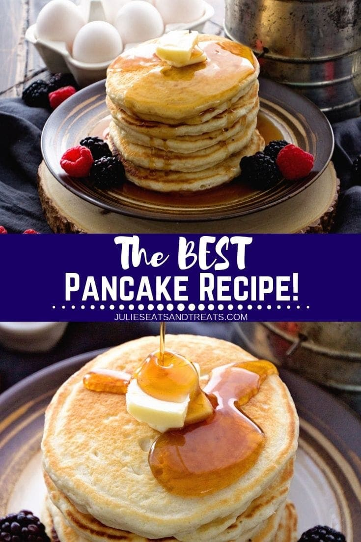 Easy Homemade Pancakes Recipe + VIDEO