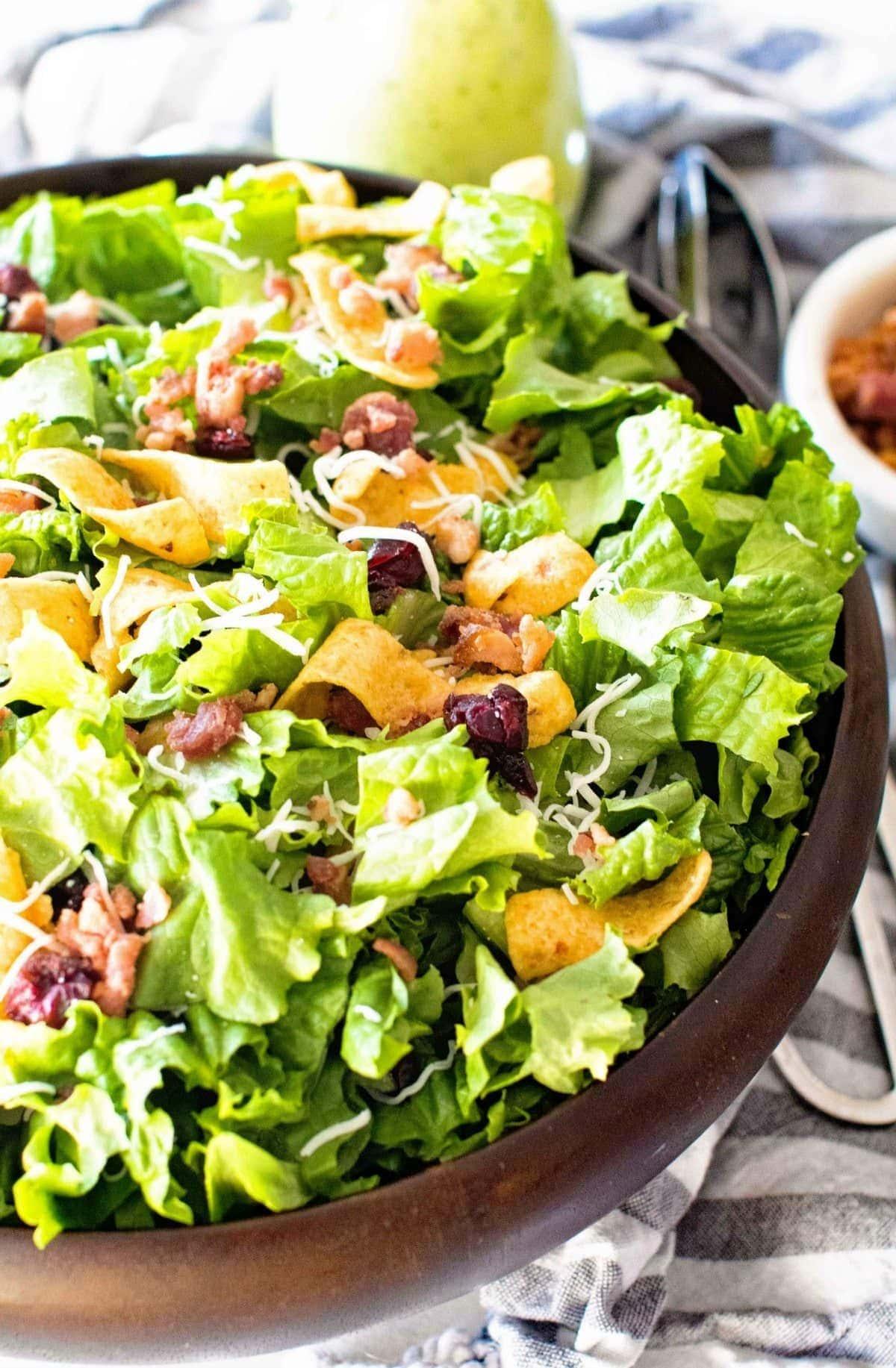 Frito Lettuce Salad Overhead