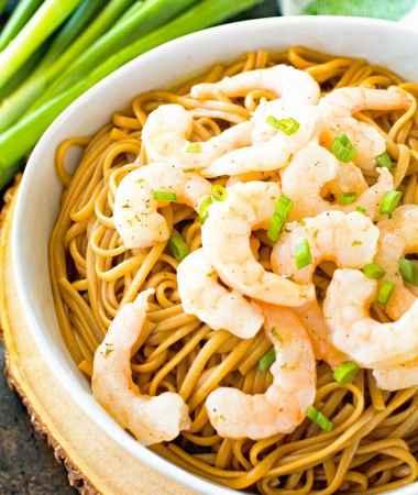 Asian Shrimp Scampi