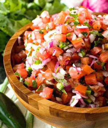 Homemade Pico de Gallo