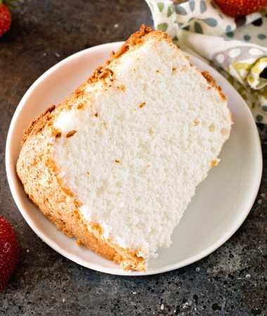 The BEST Homemade Angel Food Cake