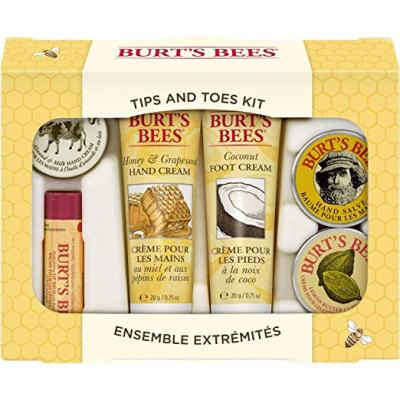 Burt's Bees TIp and Toes Kit Gift Set Stocking Stuffers